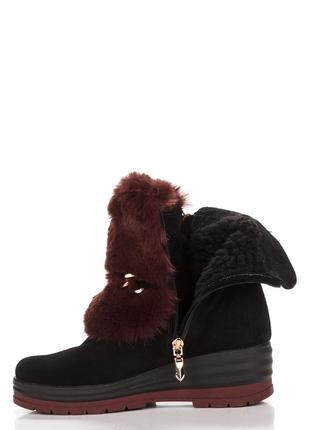 Зимние  ботиночки(натуральная замша)
