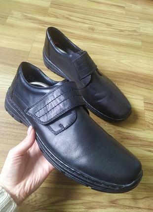 Шкіряні туфлі rieker