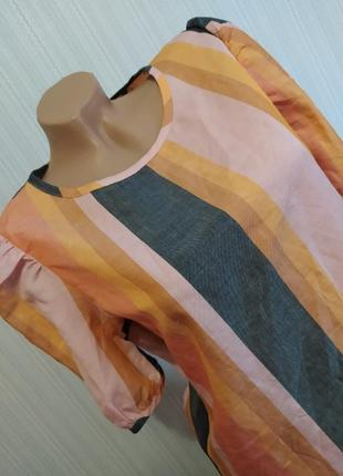 Блуза/футболка/кофточка лён+лиоцель