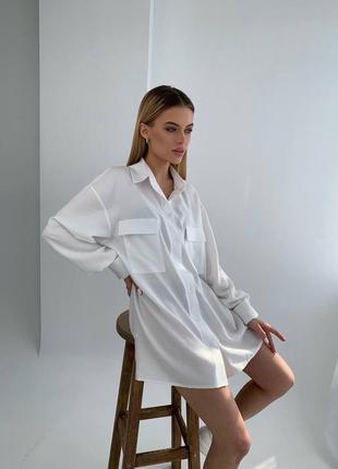 Лляна сорочка льняна рубашка