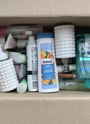 Набор, комплект, лот косметики:патчи,шампуни,мицелярка,.+набор для ванной+резинки