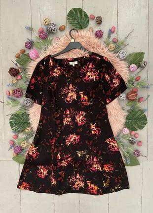 Распродажа!!! актуальное летнее платье в цветочный принт №484