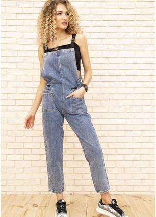 Расспродажа!!! джинсовый комбинезон