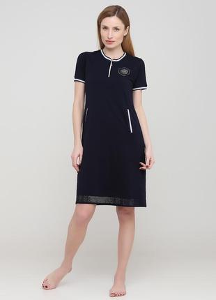 Платье  rukim темно-синий 1013