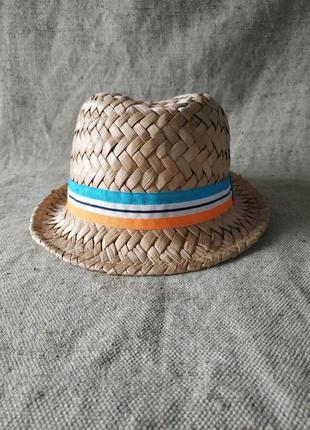 Соломенная детская шляпа h&m панама новая.