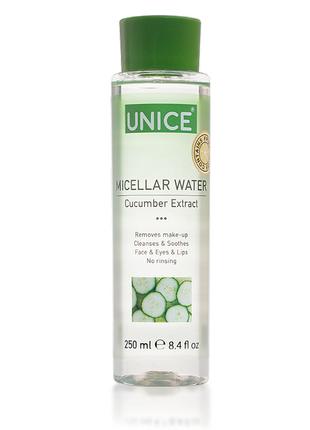 Міцелярна вода з екстрактом огірка, 250 мл