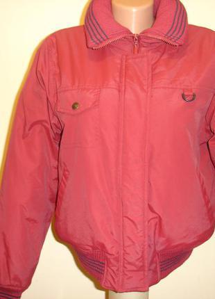 """Теплая куртка на флисе """"new fashion""""  12 р"""