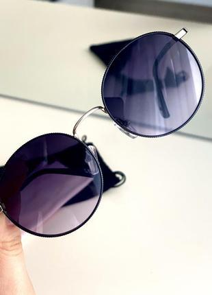 Очки с фиолетовым оттенком солнцезащитные