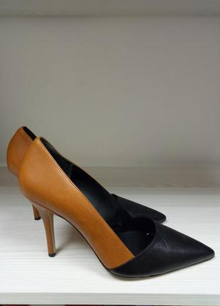 Туфли/кожаные/весенние/ удобные/бренд  hogl/классика/ 40 размер