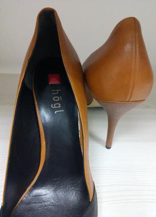 Туфли/кожаные/весенние/ удобные/бренд  hogl/классика/ 40 размер4