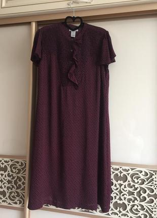 Сукня з натурального шовку gap