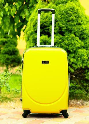 🔥качество! чемодан пластиковый ручная кладь валіза пластикова ручна поклажка доставка!