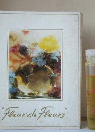 Nina ricci fleur de fleurs - pdt - 2 мл. оригінал. вінтаж