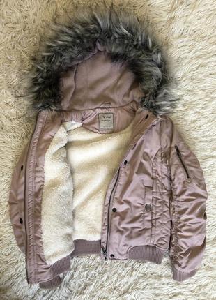 Куртка деми для девочки 8 лет