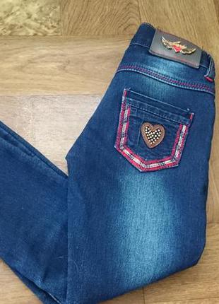 Классные теплые джинсики