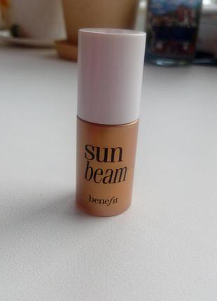 Сияющий хайлайтер benefit sun beam,4 ml