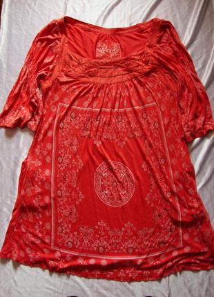 Туника next платье вискоза большой размер 52
