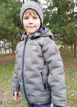 Зимняя куртка курточка для мальчика lego wear р.104-110 lenne reima