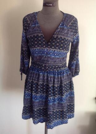 Платье коттон бохо энто стиль
