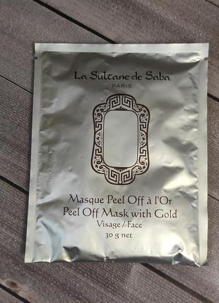 Пластифицирующая маска с золотом la sultane de saba