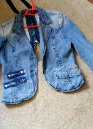 Джинсовый пиджак fracomina