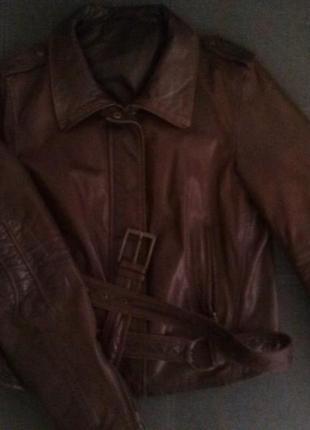 Куртка из натуральной кожи italia