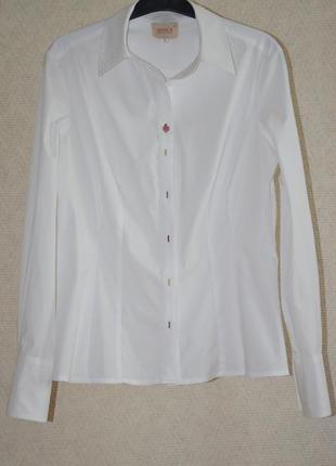 Приталенная рубашка avoga antology dublin