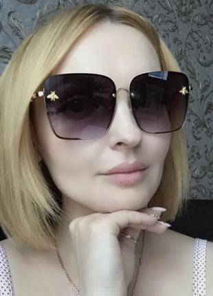Солнцезащитные квадратные очки