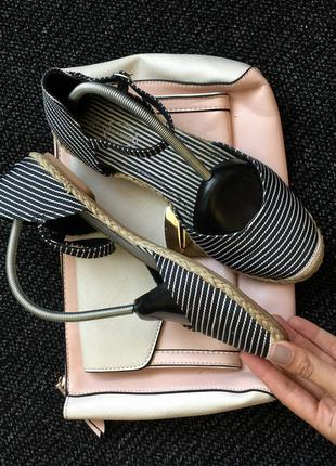 Босоножки балетки эспадрильи туфли