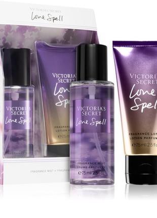 Набор victoria's secret love spell оригинал