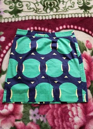 Gap фирменная котоновая юбка