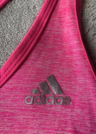 Майка для спорта, фитнеса, зала, спортивная adidas climalite, оригинал5 фото
