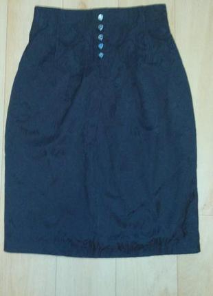 Симпатичная юбка с завышенной талией