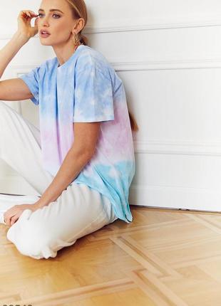 Радужная футболка из мягкого хлопка