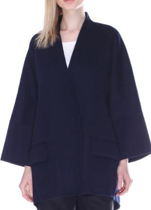 Новое шерстяное пальто zara
