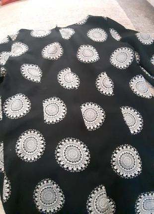 Платье лёгкое в стиле хиппи3 фото