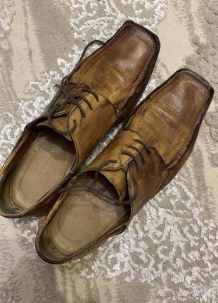 Carlo pazolini полностью кожаные туфли
