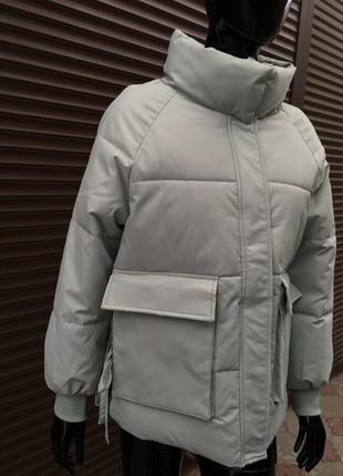 Об'ємна стильна куртка
