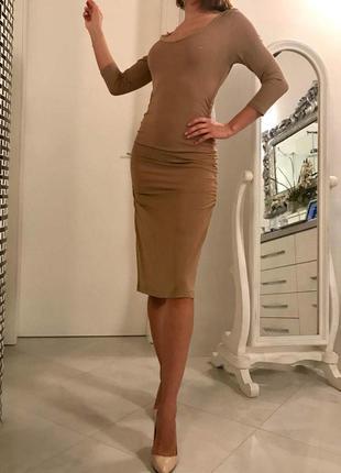 Коктельное платье бренд marc cain