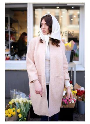 Модное пальто из шерсти дизайнера анна яковенко