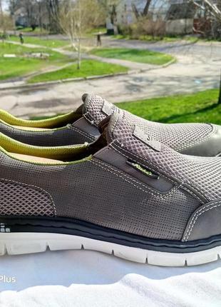 Легкие, комфортные туфли, мокасины rieker antistress 46-47