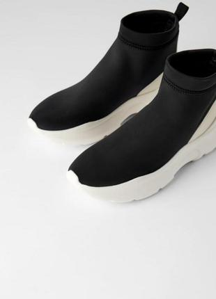 Кроссовки носки zara