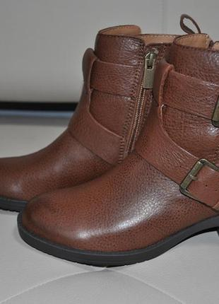 Стильные кожаные ботинки kenneth cole reaction