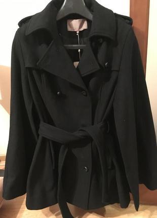 Пальто куртка летучая мышь mint&berry англия размер л м шерсть