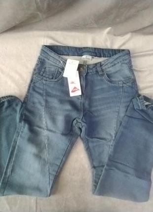 Трикотажні/спортивні штани під джинс, євр.рр.36,38,42