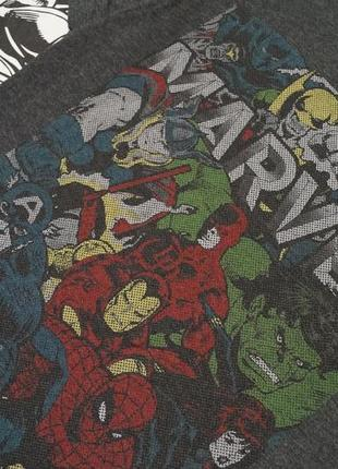 Футболка с принтом комикс марвел мстители marvel avengers