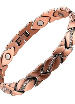 Браслет магнитный браслет медный на руку