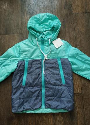 Куртка, легкая курточка, демисезонная 5-6 лет2 фото