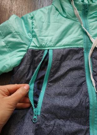 Куртка, легкая курточка, демисезонная 5-6 лет6 фото