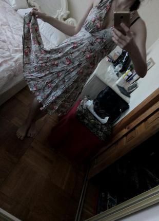 Летнее хлопковое платье сарафан
